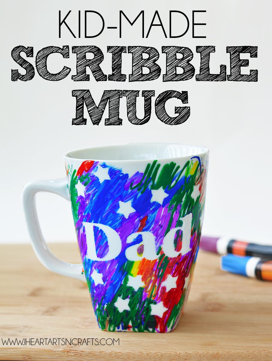 Robust Scribble Gift Mug Easy Day Sharpie Mug Kids Craft Color Your Own Coffee Mug furniture Color Your Own Coffee Mug