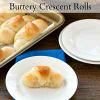 60 Minute Buttery Crescent Roll Recipe