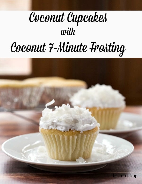 Coconut Cupcakes with Coconut 7-Minute Frosting
