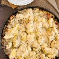 One-Skillet Chicken Parmesan