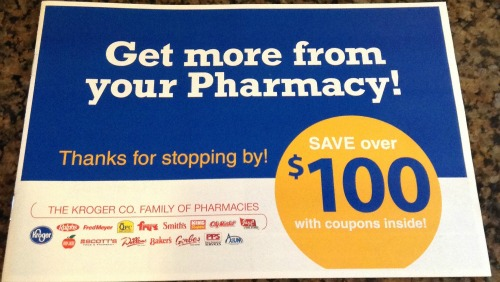 Kroger pharmacy discount coupon