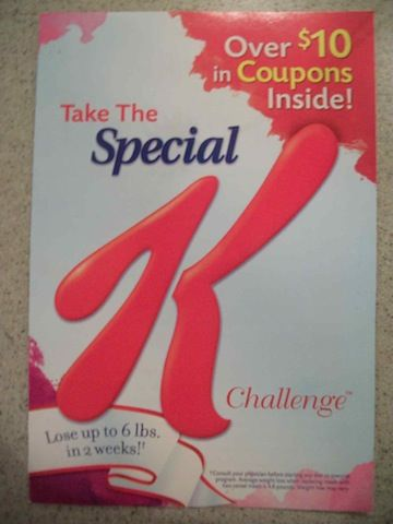 new booklet take the special k challenge. Black Bedroom Furniture Sets. Home Design Ideas