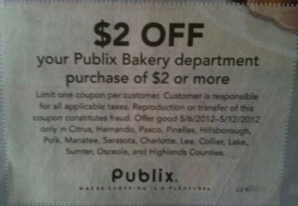 Publix deli coupons