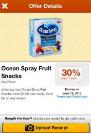 Ocean Spray endorse offers