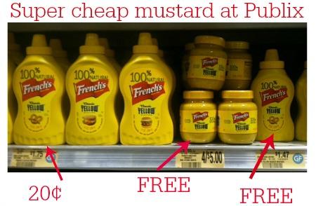 mustard publix