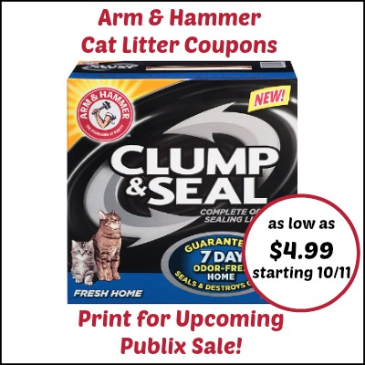 Arm And Hammer Super Scoop Cat Litter Coupon