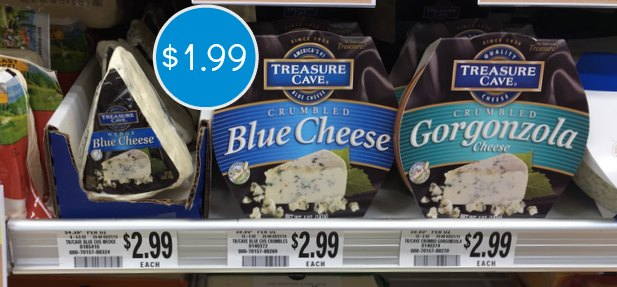 Treasure Cave Cheese Coupon Publix