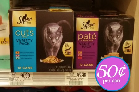 sheba cat food publix