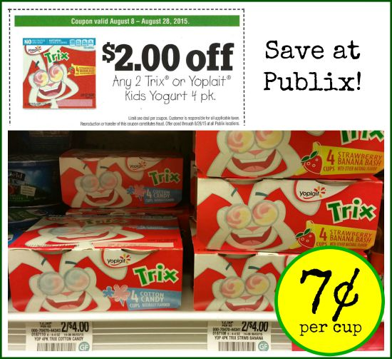 Trix yogurt coupons 2019