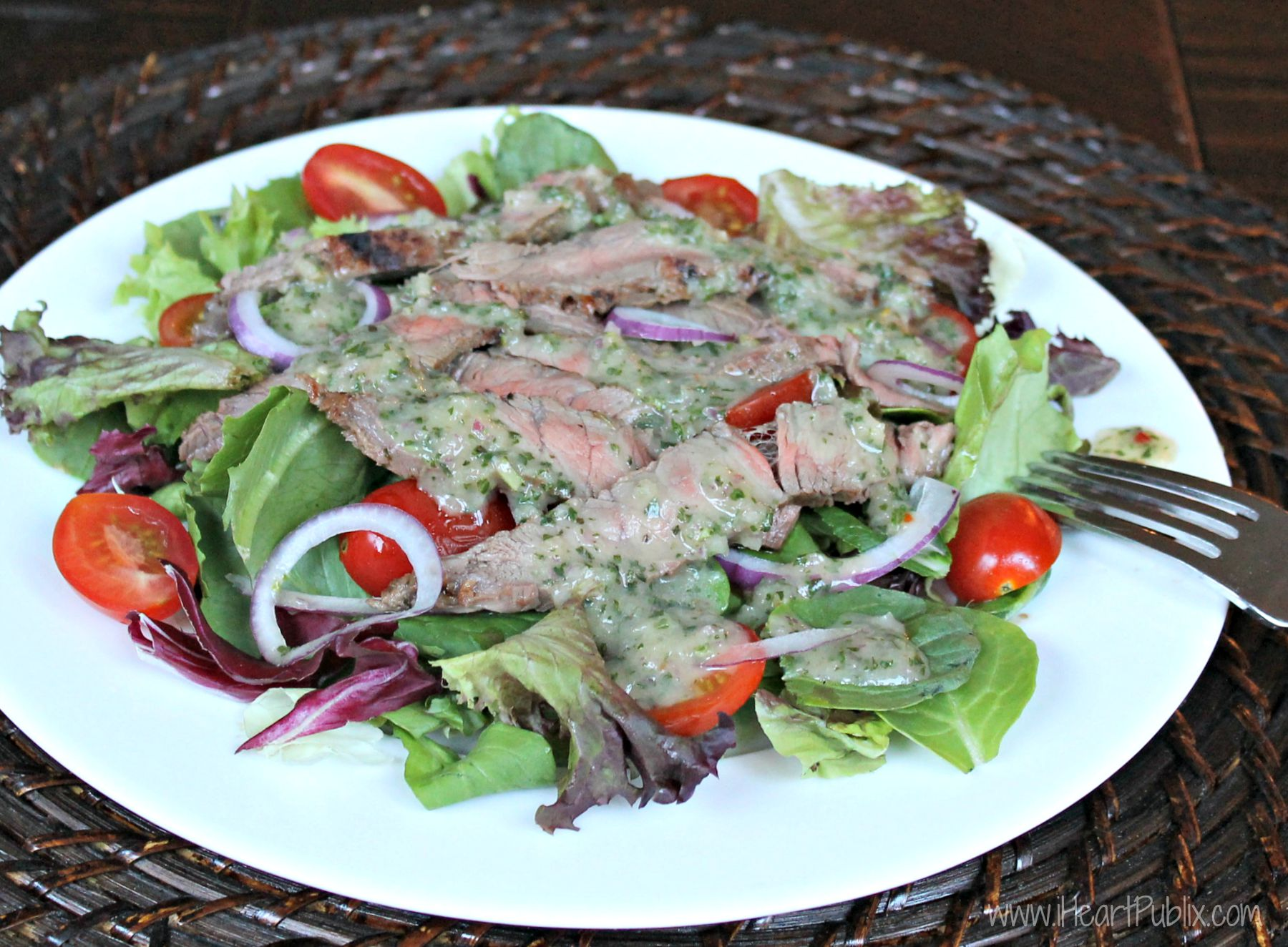 CARIBBEAN CHIMICHURRI STEAK SALAD