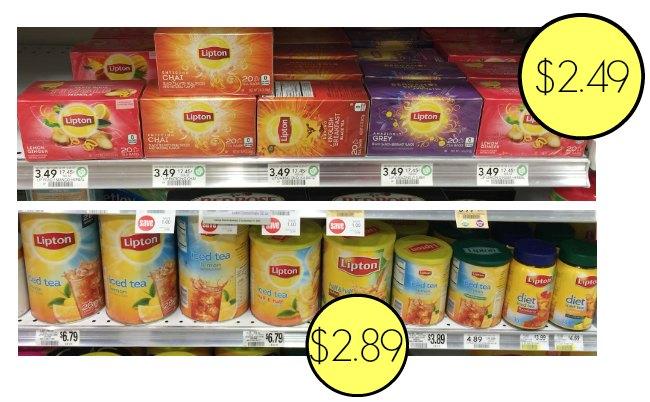 lipton tea deals publix