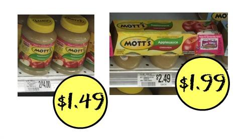 mott's applesauce publix