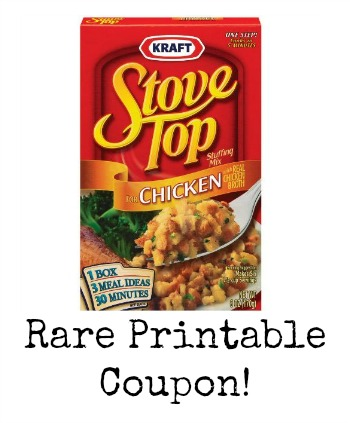 Stove Top Stuffing Boxes Only $/Each At Target After Cartwheel Offer And Printable Coupon! Links in the post may contain affiliate links. Here's a last minute deal on a great side for your Christmas dinner! Get Stove Top Stuffing only $ at Target after Target Cartwheel Offer and Printable Coupon! Grab your prints and hurry-in to claim your savings! Buy 2 – Stove Top Stuffing Boxes 6oz on sale for $