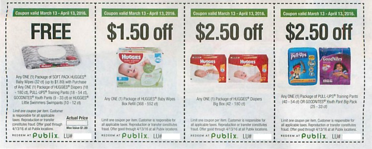 Huggie diaper coupons 2019