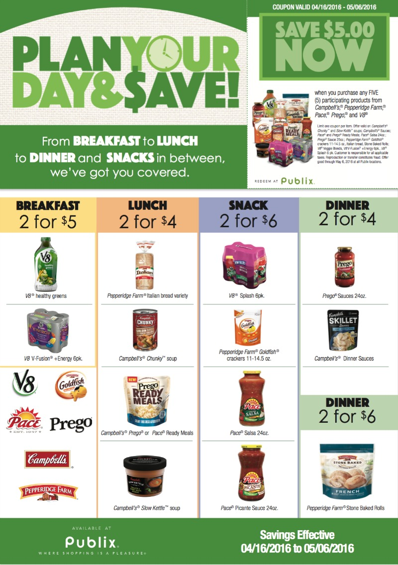 plan your day save publix