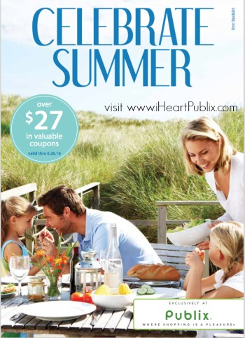 celebrate summer booklet publix