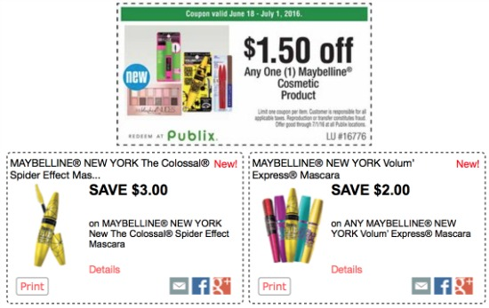 MAYBELLINE COUPON CODE