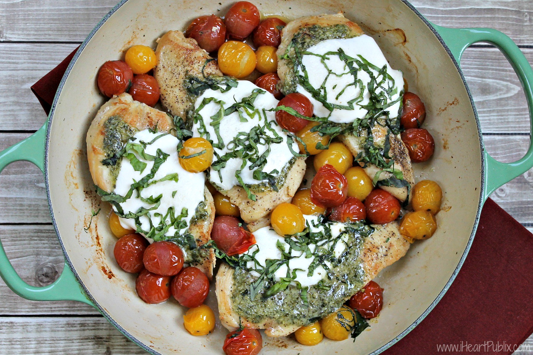 Baked Caprese Chicken-2