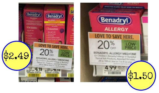 benadryl deals