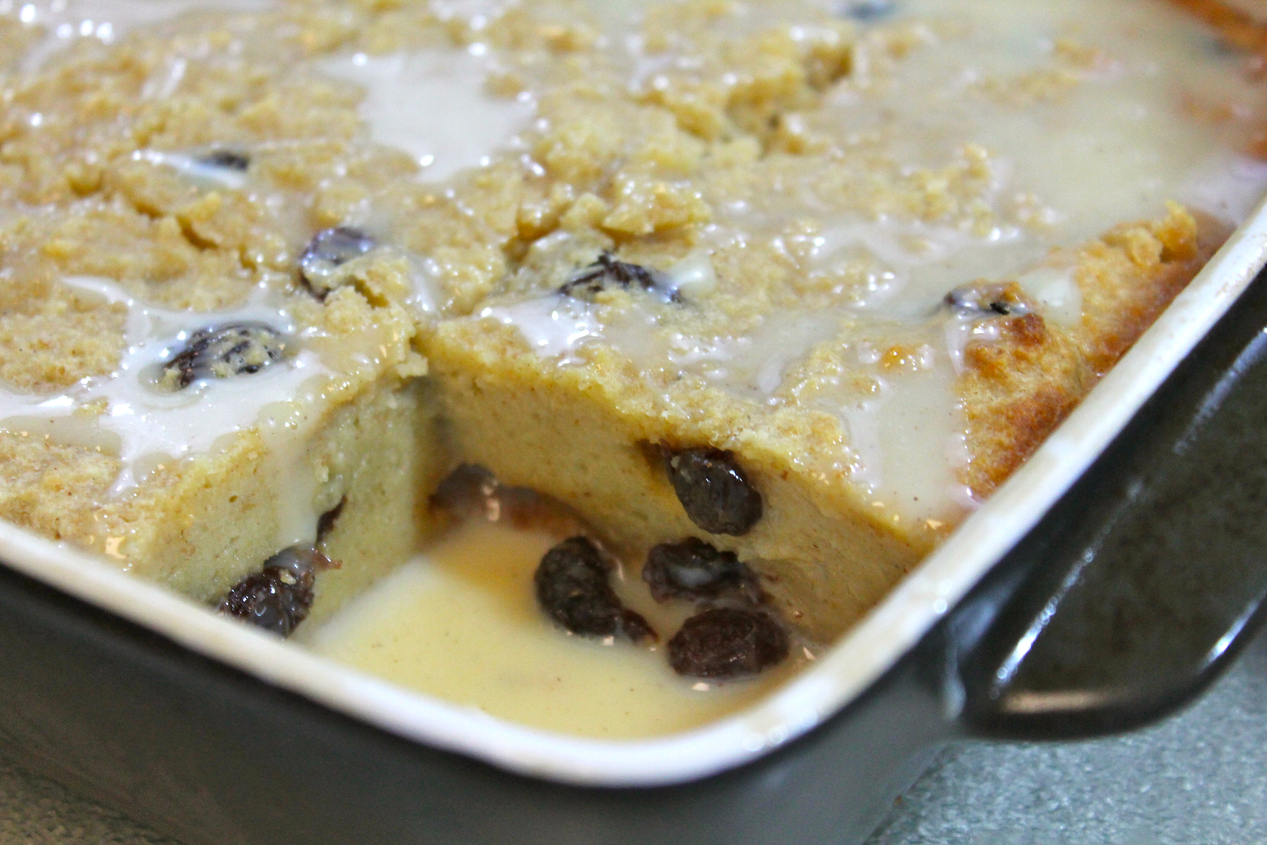 Rosie's Old Fashioned Bread Pudding | I Heart Recipes