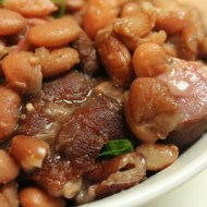 Southern Pinto Beans and Ham Hocks Made in the Crock Pot