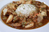 Seafood, Chicken, and Andouille Sausage Gumbo   I Heart Recipes
