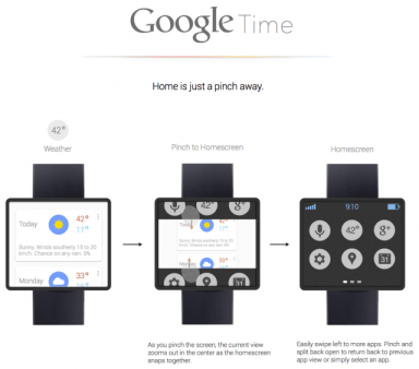 Google-Time-concept