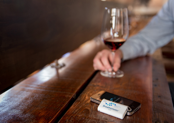 wine  Breathometer: an iOS breathalyzer that reads how drunk you are wine