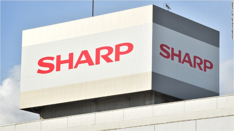 Foxconn buys Apple supplier Sharp in a $3.5 billion deal