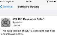 Download iOS 10.1 Beta 1 For iPhone, iPad, iPod touch