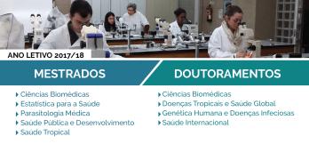 Mestrados e Doutoramentos: Candidaturas abertas!