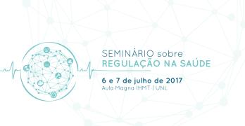 Banner do Seminário sobre Regulação em Saúde