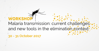 Workshop on Malaria transmission: inscrições abertas!
