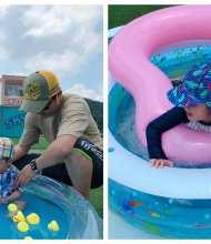 2020今夏玩水快閃限定❤️ 『大直典華me2we水公園』❤️ 小童開心玩水爸媽吃吃喝喝吹冷氣最享受(≧∇≦)/