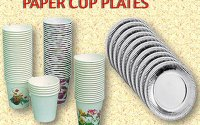 Paper-cups-plate
