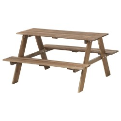 Resö Childrens Picnic Table Ikea