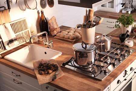 small kitchen worktops