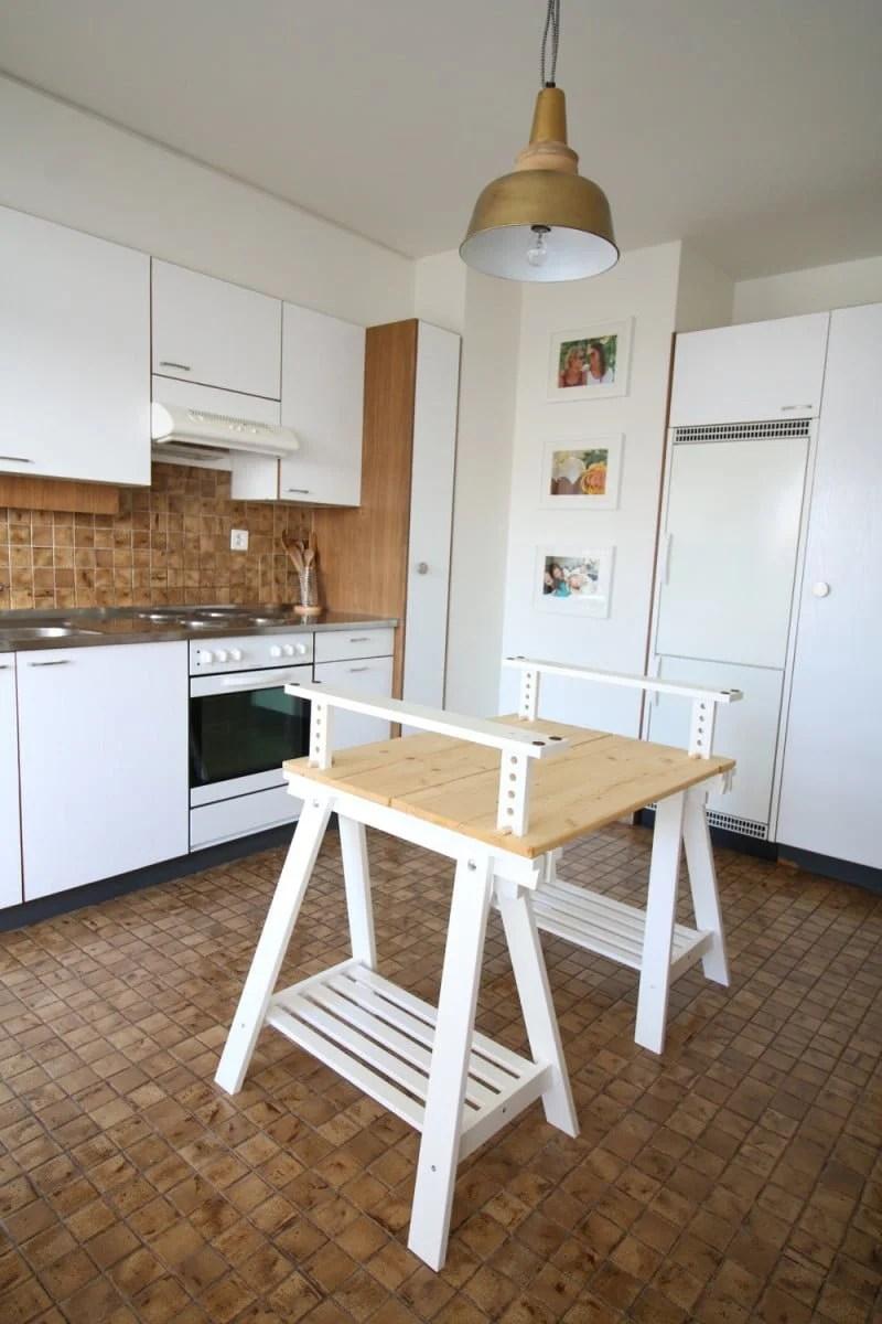 alternative ikea finnvard kitchen island kitchen island table ikea DIY IKEA FINNVARD kitchen island by Sofia Clara
