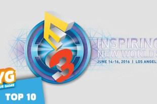 Top 10 E3 2016