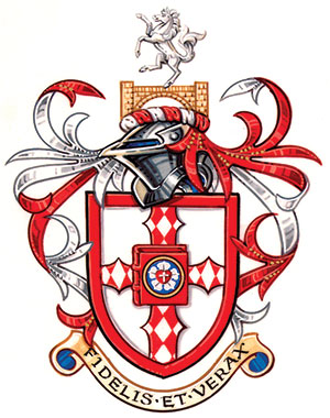 Westfield House's new Coat of Arms.