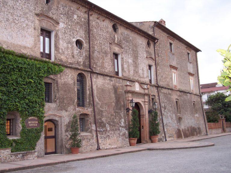 Edificio che ospita il museo della liquirizia Amarelli