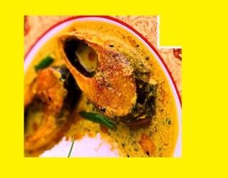 Lemon Hilsa Recipe in a dish