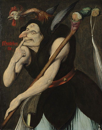 "A painting called ""An Allegory of Folly"""