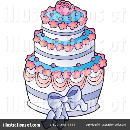 Medium Of Wedding Cake Clipart