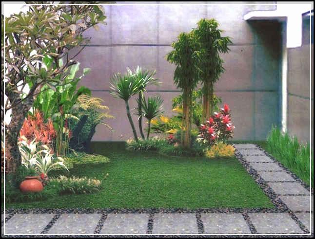 taman minimalis depan rumah 17