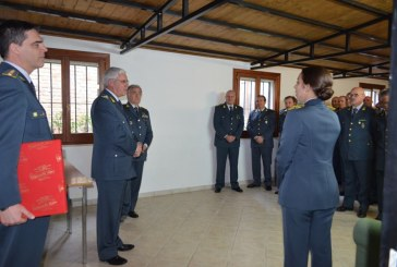 Il comandante interregionale in visita alle compagnie di Sulmona e Avezzano