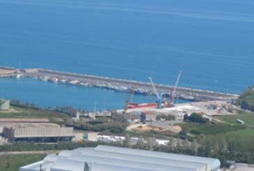 Punta Penna fa il pieno, è record di merci sbarcate