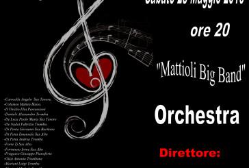 """""""Mattioli Big Band"""" in un concerto organizzato da Ricoclaun"""