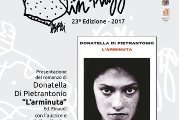 """Stasera la presentazione del romanzo """"L'Arminuta"""" di Donatella Di Pietrantonio"""