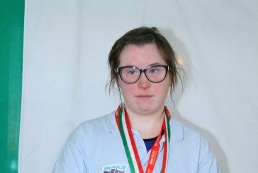 Al campionato italiano agonistico invernale brilla la stella abruzzese Mariella D'aurizio